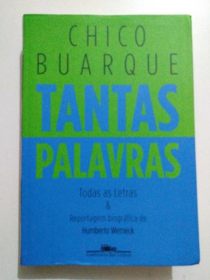 Livro Chico Buarque Tantas Palavras