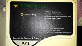 Central De Alarme Compatec (seminovo) Segurança Casa Ou Loja