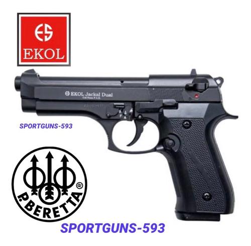 Pistola Fogueo Ekol Jackal Dual Rafaga9mm  Sonido Real $ 280