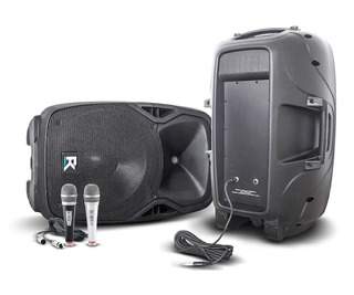 Pack Bafles R-15 Abs 15 + Microfonos + Cables Cuota