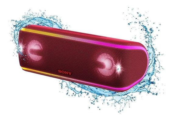 Caixa De Som Sony Bluetooth Xb41 Sem Fio Vermelha