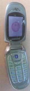 Celular Samsung Sgh-x480 Claro Com Carregador