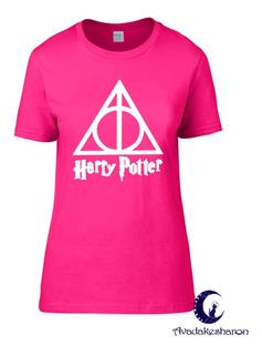 Camiseta Estampada Películas Harry Potter