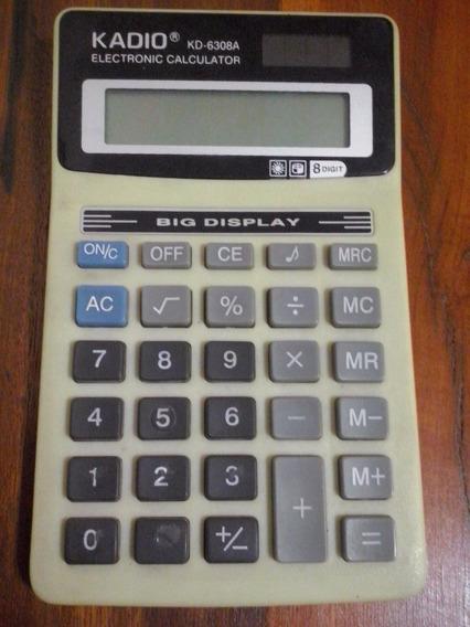 Calculadora Eletrônica Kadio - Kd-6308a