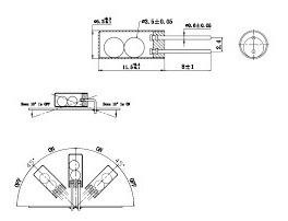 Arduino Sensor Vibração Sw 520d Frete R$ 9,00