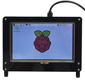 Suporte Case Tela Lcd 5inch Raspberry Pi3