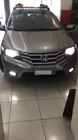 Honda City Lx 1.5 Automático - Novo 69 Mil Km 2013