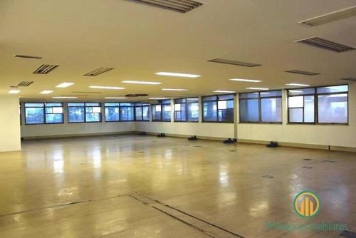 Andar 517m2 Alugado Edif. Coml. A 300m Marginal/cptm Pinheiros - W1357