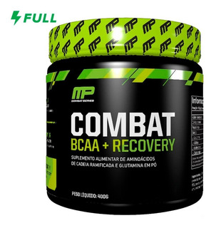 Combat Bcaa + Recovery Aminoácidos - 400g - Musclepharm Mp