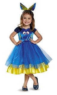 Disfraz Infantil De Dory Con Tutu De La Pleicula Buscando A
