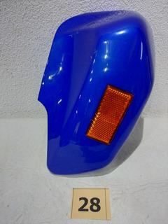 Cubre Guardabarro Delantero Gilera Smash Orig Izq Azul 28