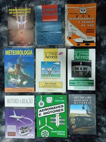 Livros Aviação Piloto Privado E Comercial Pp/pc