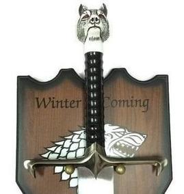 Espada Game Of Thrones Jon Snow Lobo Garra Longa Suporte