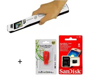 Scanner Portátil De Mão Sunfire Ts2l + Cartão Sandisk 8gb