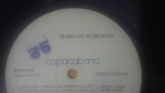 Lp Vinil Marcos Roberto - 1985