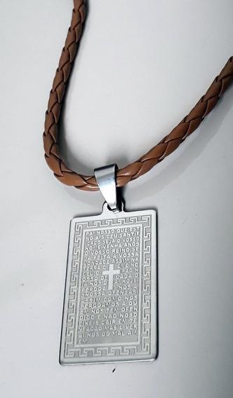 Medalha Pai Nosso (caramelo)
