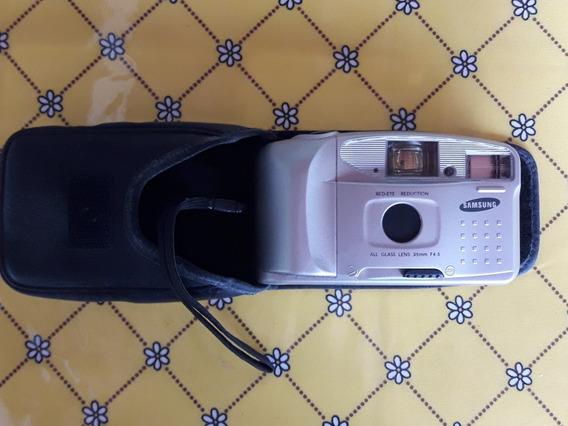 Maquina Fotográfica Analógica Samsung Ff-222s Focus Free Aut