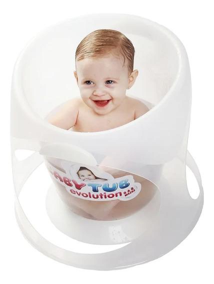 Banheira Babytub Evolution De 0 A 8 Meses - Transparente