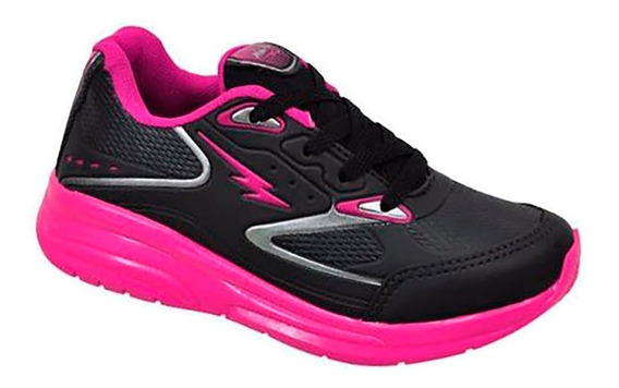 Tenis Mini-pe 06/2019 Rodinha Mp0361 Preto/pink