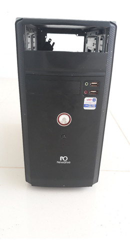 Gabinete Pc Desktop Usado Preto Sem Fonte - Usado