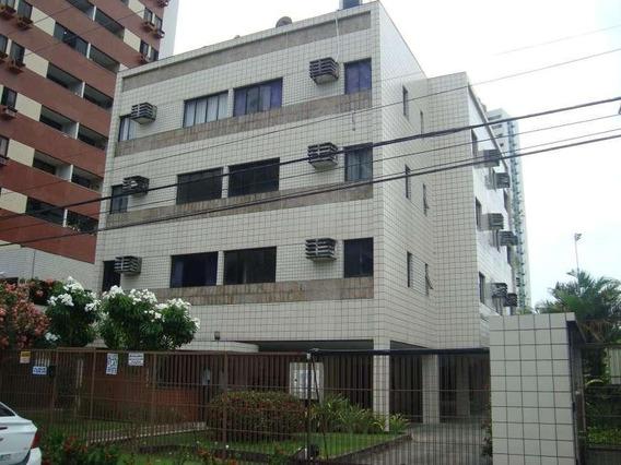Apartamento Com 1 Quarto Para Alugar, 38 M² Por R$ 1.600/mês Com Taxas - Casa Forte - Recife/pe - Ap1918