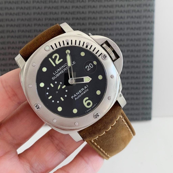 Panerai Luminor Submersible Impecável Completo