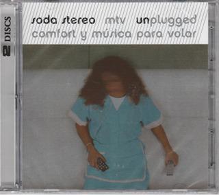Soda Stereo Mtv Unplugged Comfort Y Musica Para Volar Cd+dvd