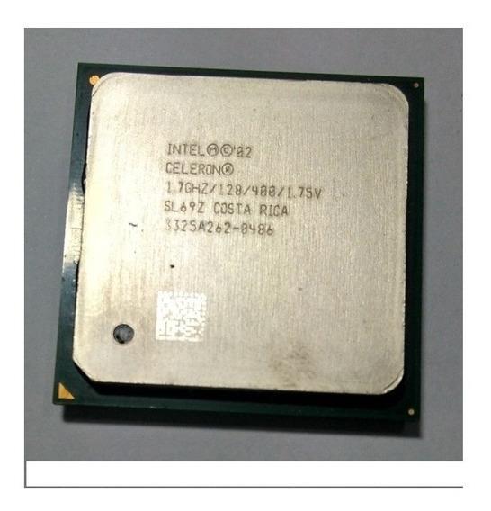 Processador Celeron Intel 1.7ghz/128/400 Sl69z Soquete 478