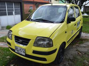 Taxi Hyundai Atos 2005 Llantas Nuevas Forros En Cuero