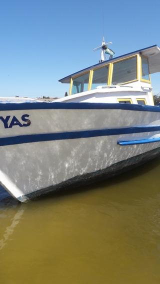 Barco Passeio Barco De Madeira