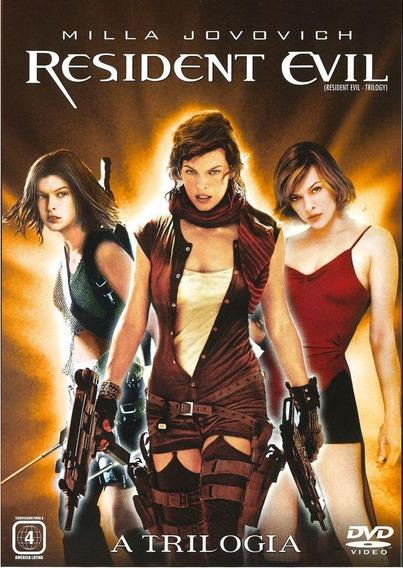 Box - Resident Evil - A Trilogia