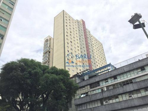 Imagem 1 de 20 de Apartamento Com 1 Dormitório Para Alugar, 30 M² Por R$ 1.200,00 - Higienópolis - São Paulo/sp - Ap24553