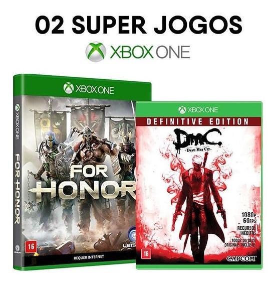 For Honor + Dmc Devil May Cry - Xbox One - Mídias Físicas