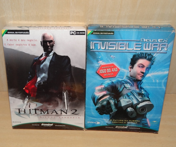Hitman 2 - Silent Assassin + Deus Ex - Invisible War - Pc