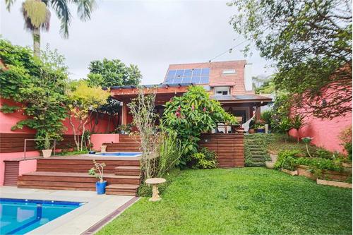Imagem 1 de 30 de Casa No Alto Da Boa Vista Com 5 Dormitórios - Reo57872