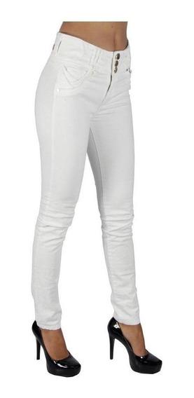 Pantalón Jeans Dama Mujer Mezclilla Strech Ajustados Sninny