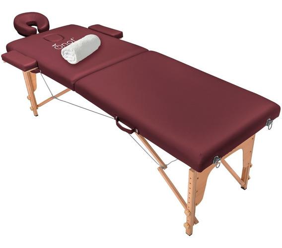 Cama De Masaje Portatil Accesorios Plegable Facil Transporte