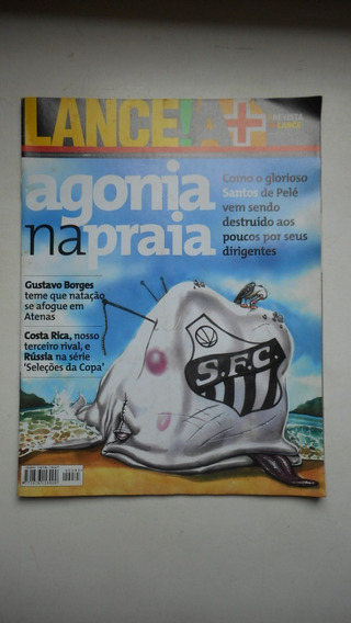 Revista Lance Nº 85 - Abr/2002 - Crise No Santos Fc. / Copa