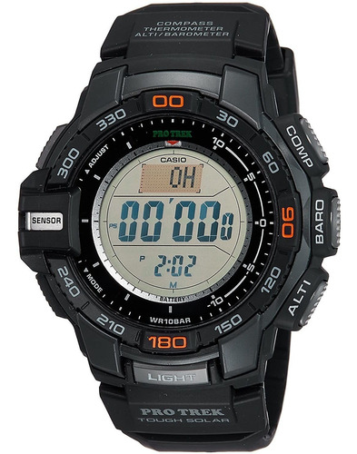 Imagen 1 de 4 de Reloj Digital Casio Prg-270-1cr, Deportivo, Solar, 52mm