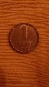 Moneda Argentina De 1 Centavo Año 2000