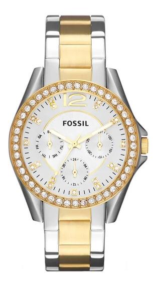 Relógio Fossil Feminino Riley Es3204/5bn