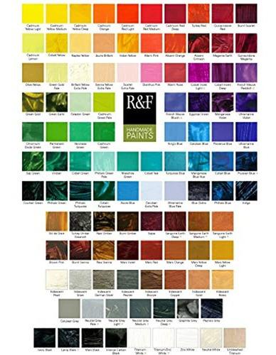 R Y F Pigmento Pega 38ml Pintura Al Oleo Malaquita Verde