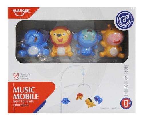 Móvil Musical 4 Colgantes De Plástico 1175168