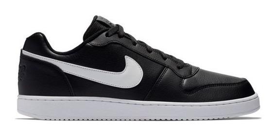 Tênis Nike Ebernon Low Masculino - Preto Original + Nf