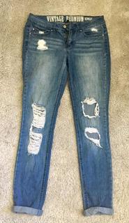 Jean Pantalón Para Mujer Rewash Size 5/27