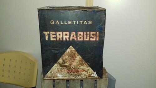 Lata De Galletitas Antigua