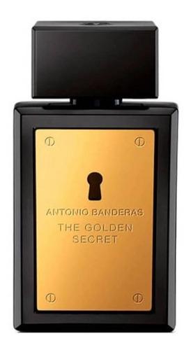 Imagen 1 de 2 de Antonio Banderas The Golden Secret EDT 50ml para  hombre