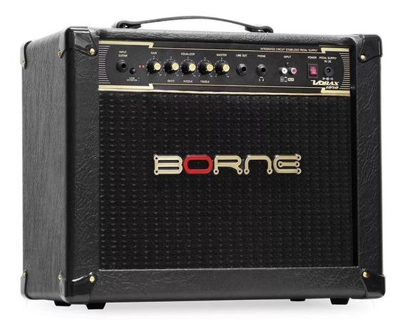 Amplificador Cubo Borne Guitarra Preto Vorax 1050 50w