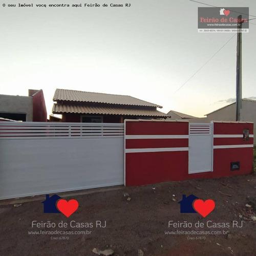Casa Com 2 Dormitórios À Venda, 70 M² Por R$ 190.000,00 - Unamar - Cabo Frio/rj - Ca0214