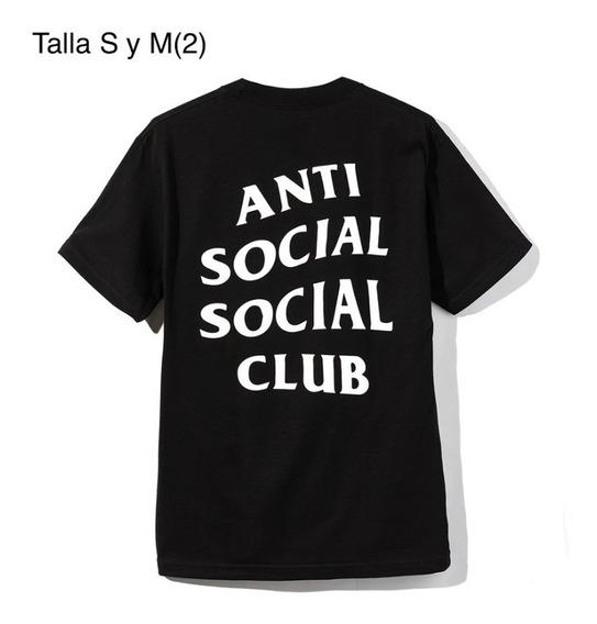 Camisas Anti Social Social Club